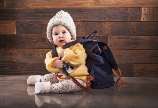 kako obući bebu