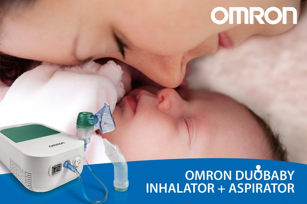 omron, duobaby, inhalator