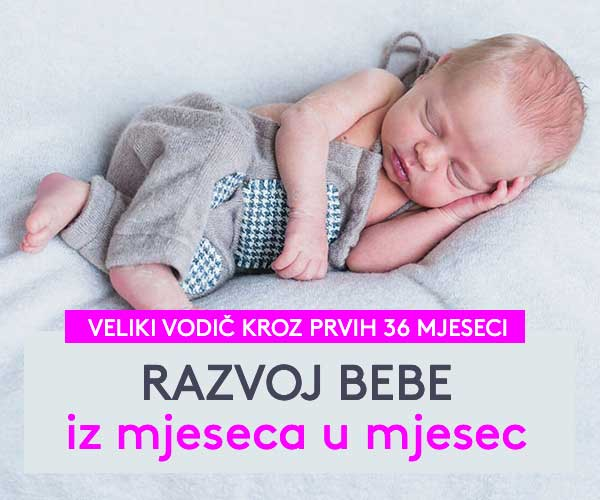Razvoj bebe iz mjeseca u mjesec