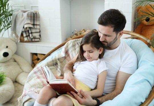 čitanje s tatom