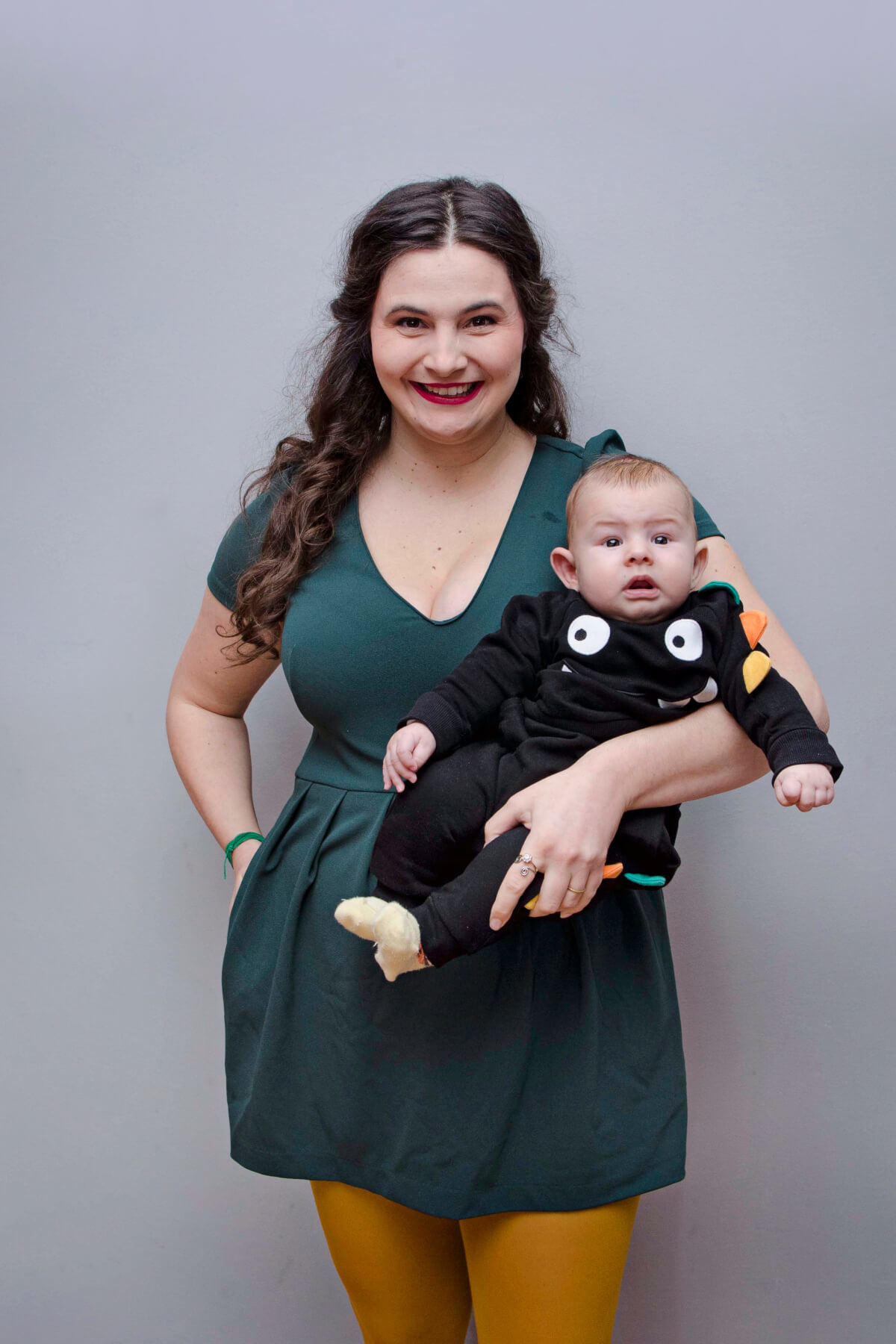 Mia Anočić Valentić, mama i beba