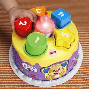 Fisher Price, rođendanska torta