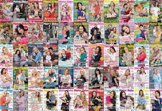pretplata, časopis, Mama&Beba