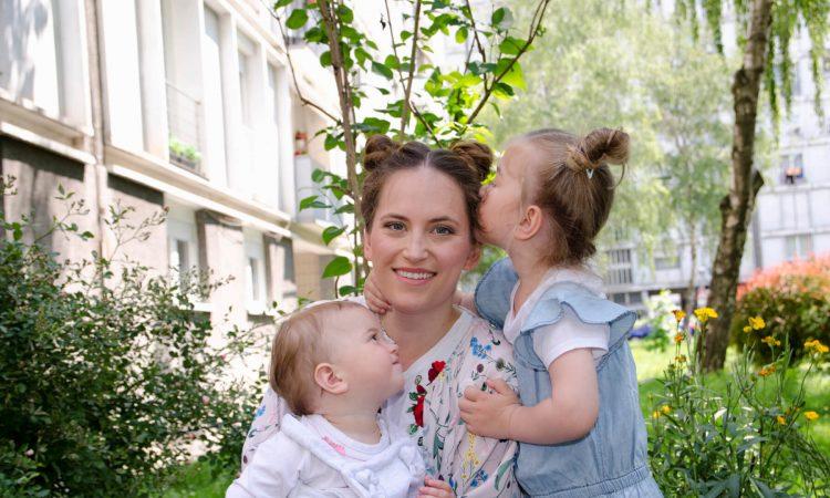 Nastasja Chiara Petrić, mama i beba