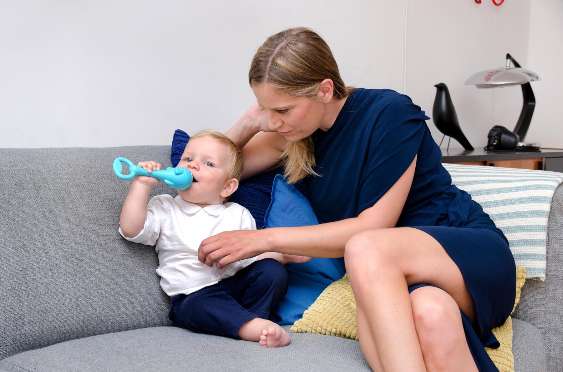 Ana Stunić, mama i beba