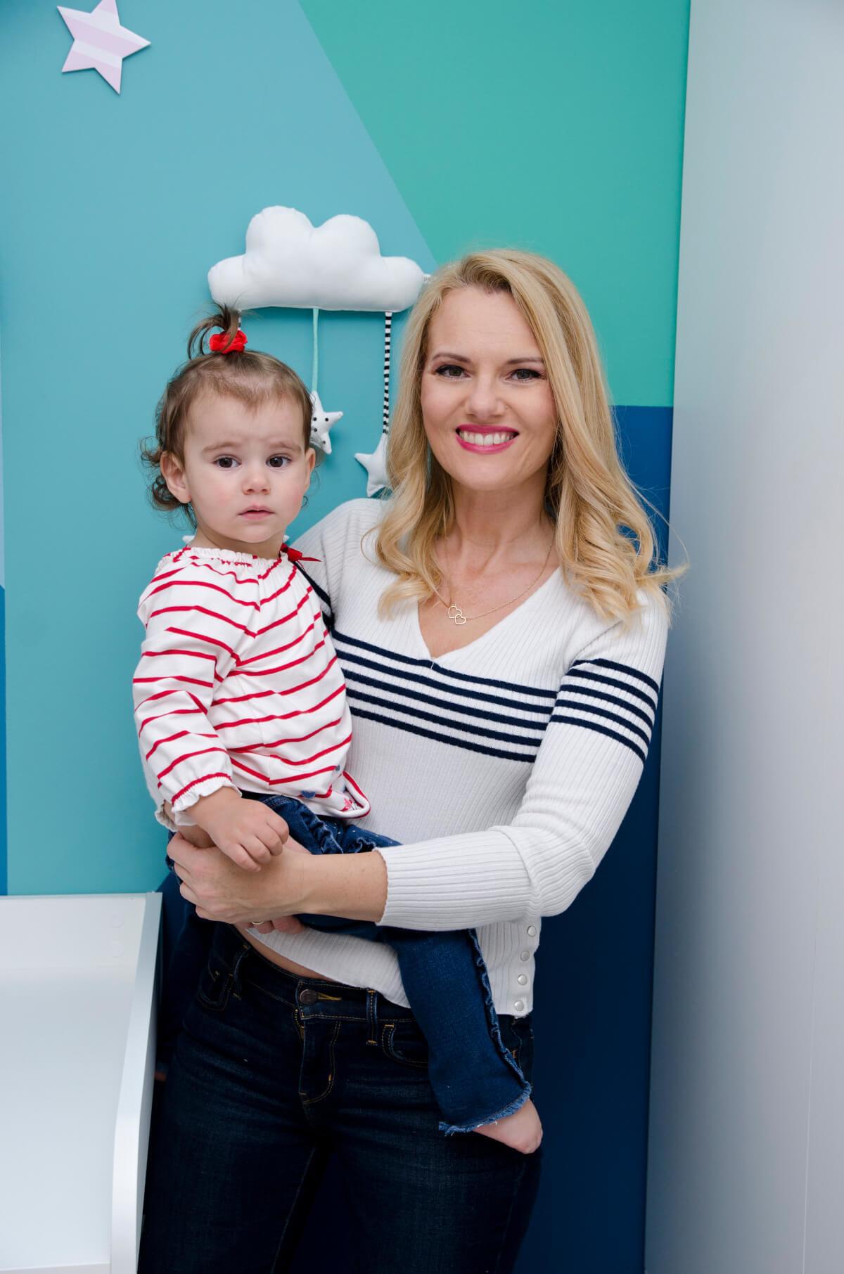 Danijela Pintarić, mama i beba