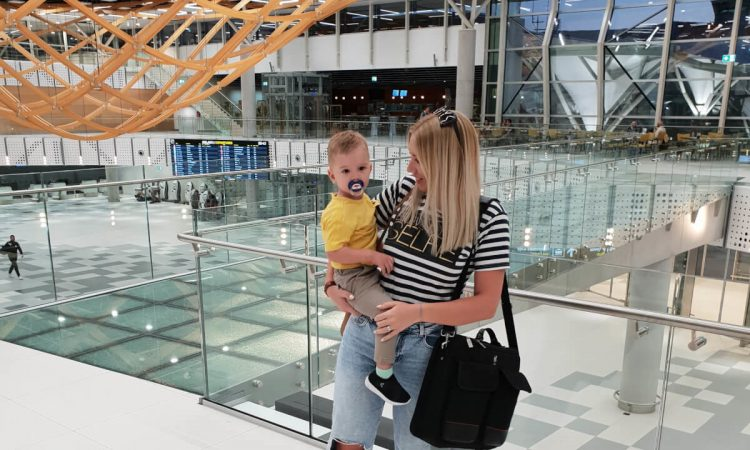 putovanje s bebom u zrakoplovu