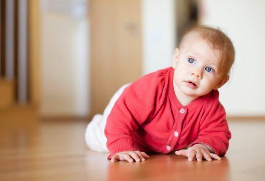 puzanje bebe, zaštita doma