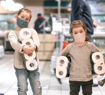 djeca nositi maske