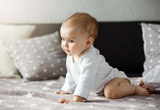 Razvoj motorike bebe